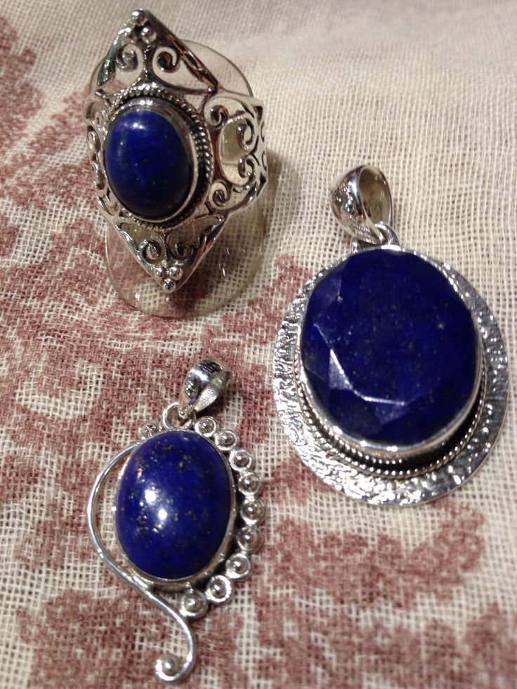 Lapis Lazuli. Helps overcome depression, quickly releases stress. Aids self & creative expression.