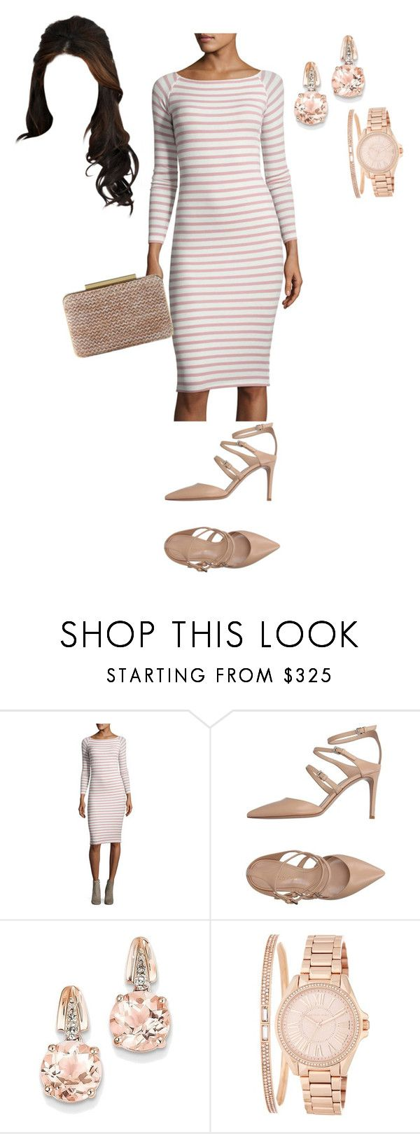 """""""Untitled #955"""" by lilymae1997 ❤ liked on Polyvore featuring ATM by Anthony Thomas Melillo, Gianvito Rossi, L.K.Bennett, BillyTheTree and MICHAEL Michael Kors"""