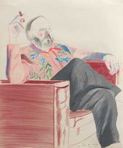 DAVID HOCKNEY : DRAWINGS