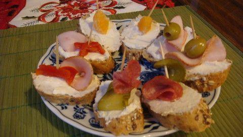 Křenová sýrová pomazánka na chlebíčky a jednohubky - Powered by @ultimaterecipe