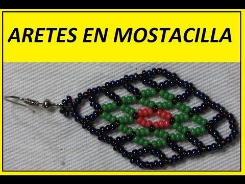 COMO HACER ARETES EN MOSTACILLA - YouTube