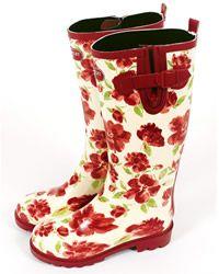 Laura Ashley Rubber Wellington Boots