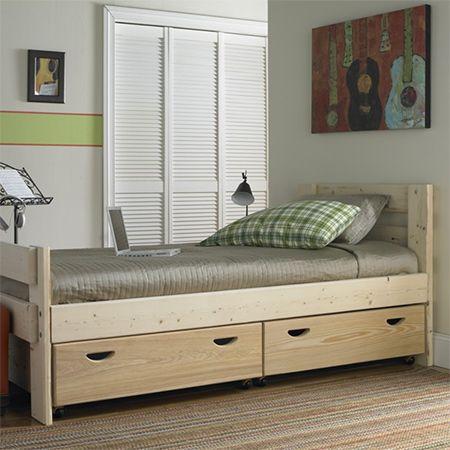 HOME DZINE Home DIY   How to make underbed storage drawers