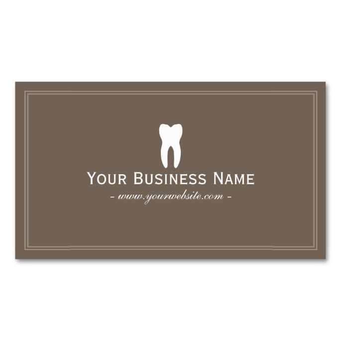 78 Best images about Dental Dentist Business Cards on ...