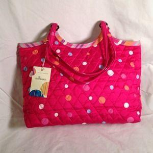 Vera Bradley Handbags - Vera Bradley Hibiscus Pattern bag ...
