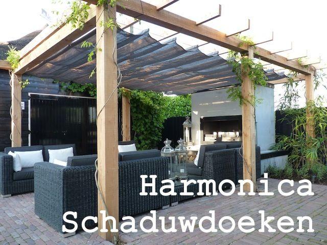 Harmonica schaduwdoeken http://www.zonnedoeken.nl