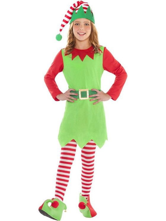 Merry Elf Girl's Costume                                                                                                                                                                                 More