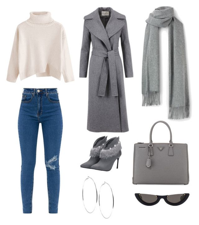 """""""Untitled #156"""" by denisapurple on Polyvore featuring Prada, GUESS and PAWAKA"""