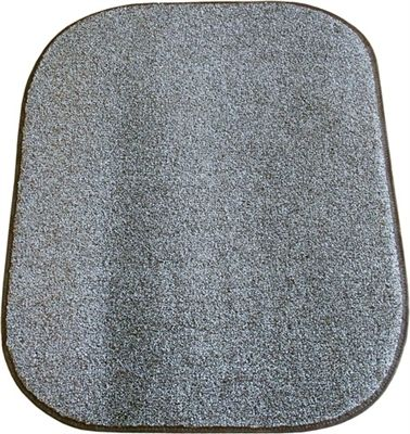 """Neat 'n Tidy Litter Mat traps litter particles and prevents litter tracking. Oversized mat protects floor from frit and accidents. Soft, grassy texture is gentle on cats' paws. Made in the USA from marine grade carpeting that is stain, and fade resistant. Measures approximately 36"" x 30"" Made in USA"