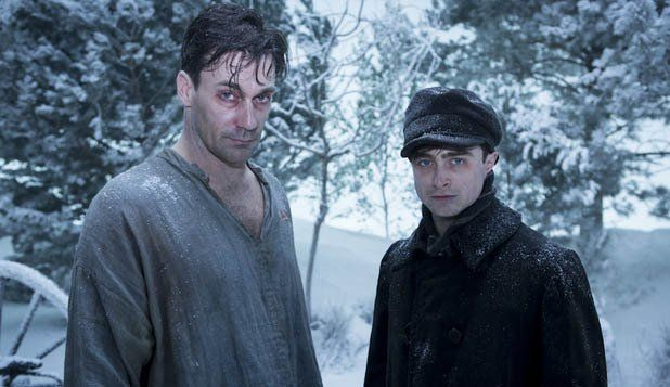 Jon Hamm and Daniel Radcliffe in A Young Doctor's Notebook (2012) | A truly weird, disgusting and funny show. Only 4 episodes on Netflix, so you can binge-watch this in less time than it would take to, you know, do something worthwhile.