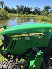 John Deere 2025R With Mower Deck And Loader!!finance tractors www.bncfin.com/apply