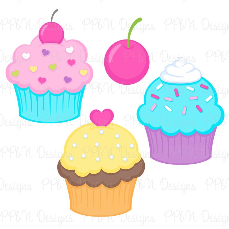 PPbN Designs - Pixel Paper Prints-Cupcakes Set 3, USD0.99 ...