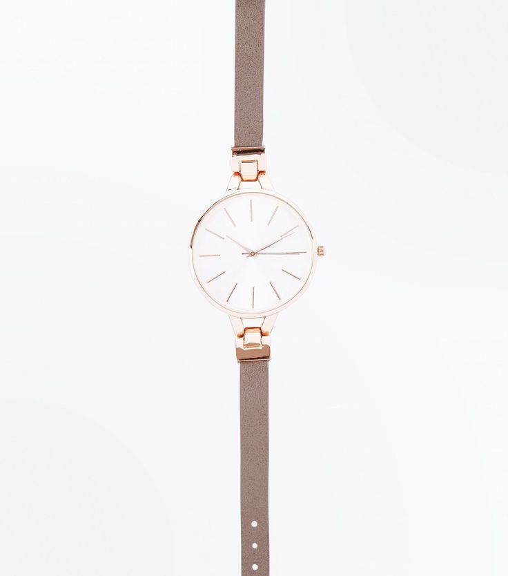 Mink Link Strap Watch | New Look