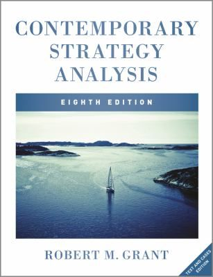 """Grant, Robert M. """"Contemporary strategy analysis : text and cases"""". oboken, NJ : John Wiley & Sons, 2013. Location: 11.02-GRA IESE Library Barcelona"""