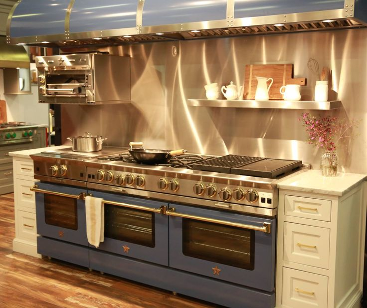 A 60 Quot Bluestar Platinum Range With A 24 Quot Rnb Frenchtop
