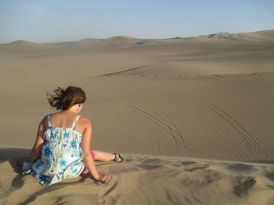Huacachina, Peru was all about the sand dunes... #funinthesun #sanddunes #huacachina #sanddunes #andoffwewent #worldschooling www.andoffwewent.com