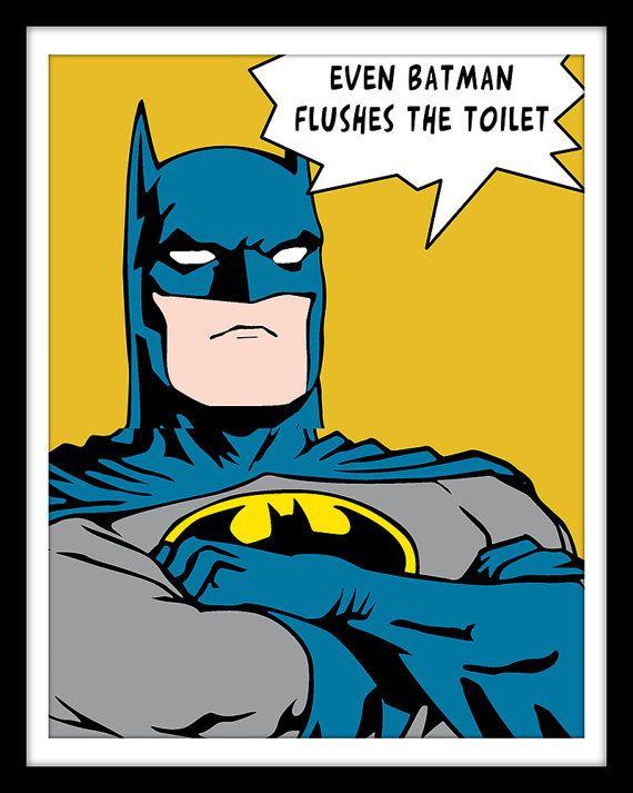 17 best images about batman bathroom on pinterest for Batman bathroom ideas