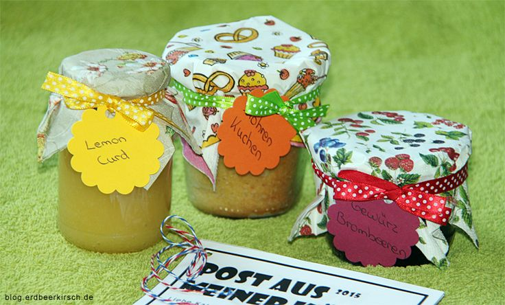 Lemon Curd, Möhren-Kuchen und Gewürz-Brombeeren hat Satsuki von http://erdbeerkirsch.blogspot.de/2015/09/aktion-pamk-sommer-im-glas.html ihrer #SommerimGlas Tauschpartnerin Katrin vom Blog Schneewitchens Apfel gezaubert.