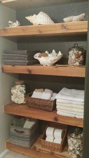 17 Best Ideas About Floating Shelves Bathroom On Pinterest