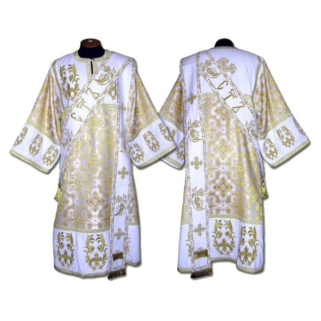 Deacon's and Ponomar's vestments Good quality. Many colors. Individual sewing Free shipping worldwide #orthodox #vestment #deacon #ponomar #orthodoxosllc