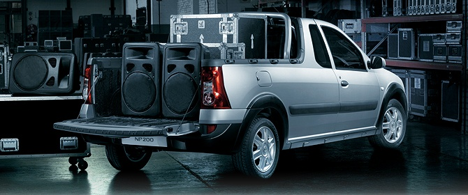 Load up all your gear with the NP200.