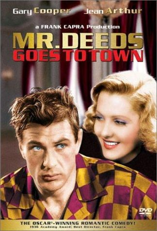 1936:  Jean Arthur and Gary Cooper in Mr. Deeds Goes to Town