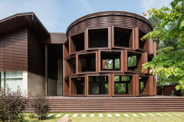 kd architecture studio / garage house, near moscow