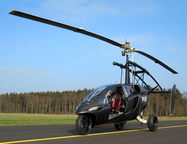 I simply must pick up a few of these.  PAL-V ONE Personal Air and Land Vehicle | Gear Patrol  https://www.facebook.com/SocialMediaPortfolio/app_322098247829588