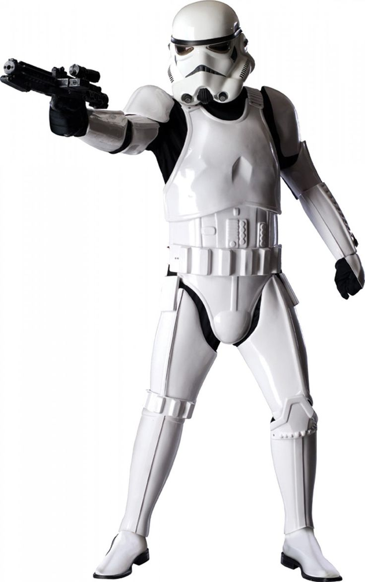 Authentic Supreme SUPER EDITION STORMTROOPER Star Wars Movie Character Costume Licensed XL Size