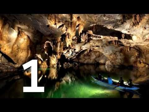 Puerto Princesa Underground River in the New 7 Wonders of Nature - YouTube