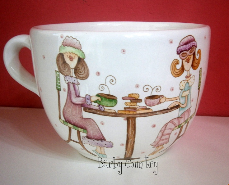 Pintura en porcelana.  Prof. Barby Schnabel  barbycountry@hotmail.com