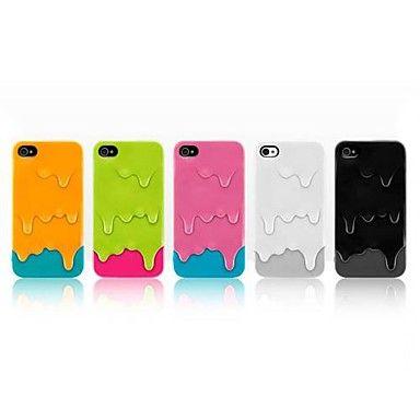 Patrón de helado de nuevo caso para el iPhone 4/4S (colores surtidos) – EUR € 6.43