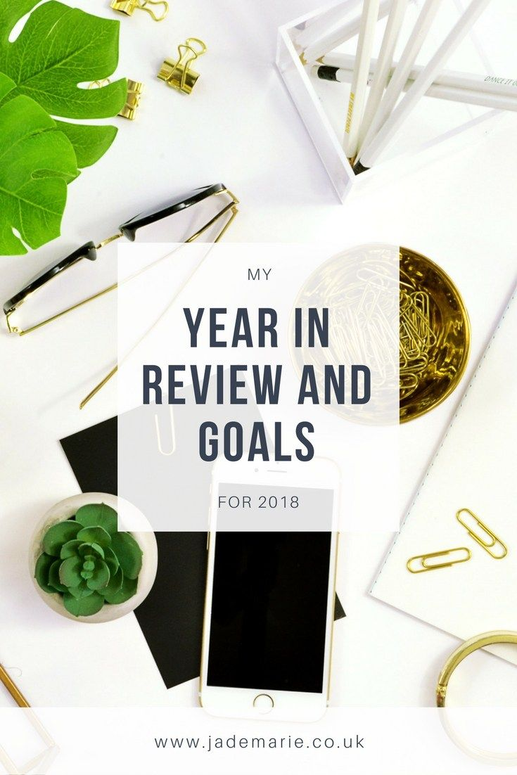 My Year in Review and Goals for 2018