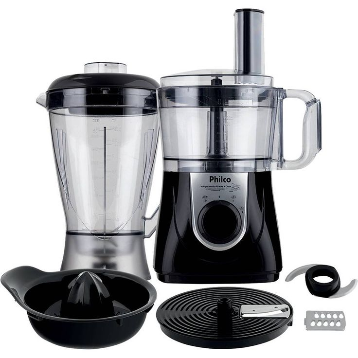 Foto 1 - Processador All in One 1,2L + Liquidificador 1,5L + Espremedor de frutas 800W - Philco
