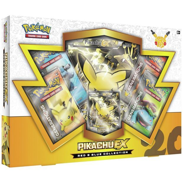 Buy Pokemon Red & Blue Collection Box Assortment at Argos.co.uk, visit Argos.co.uk to shop online for Trading cards, Games and puzzles, Toys