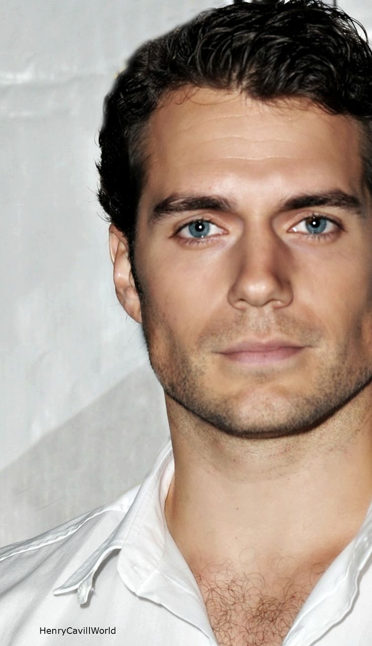 Beautiful eyes... Henry Cavill <3- look at the bone structure! xh