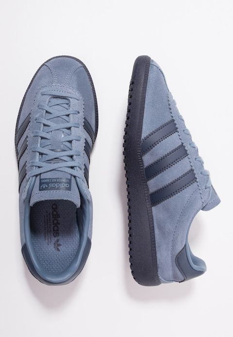 7d9f3307b adidas Originals BERMUDA - Trainers - raw steel trace blue - Zalando.co.uk