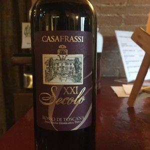 o vinho chianti- rosso di toscana