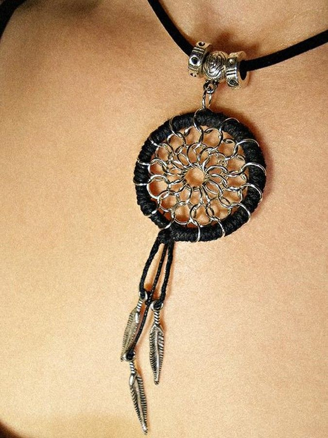 How to make a DreamCatcher pendant | DIY is FUN