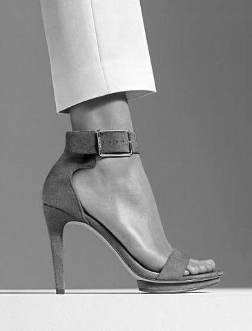 valinda high heel suede sandal | Calvin Klein
