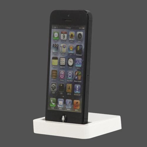 Desktop Dock iPhone 5 Lightning - Alb (suport birou)