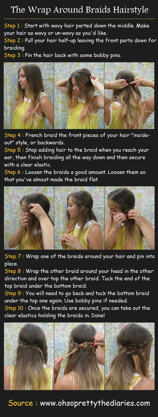 best hair images on pinterest cute hairstyles hair makeup and