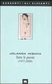 Jolanda Insana si è spenta oggi. Era nata a Messina nel 1937. Ha consegnato la sua vita alla poesia e con la poesia ci ha parlato fino all'ultimo momento. Ripropongo questo vecchio scritto de…