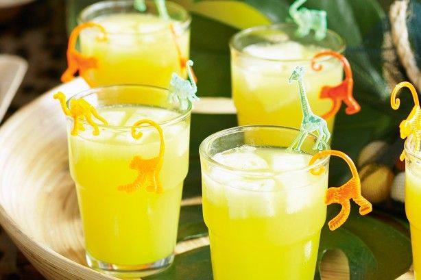 This refreshing drink is just perfect for hot summer days.