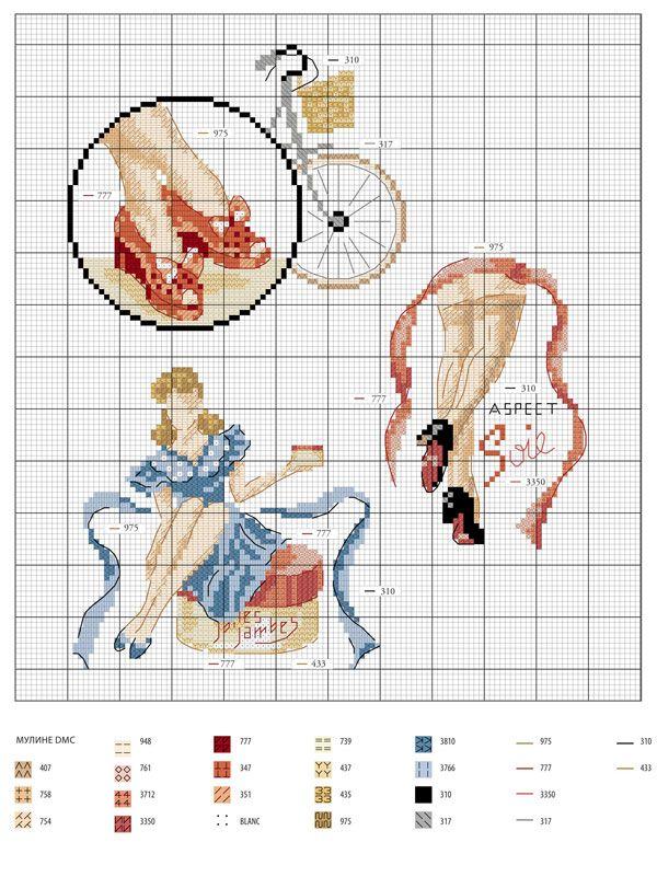 schematic cross stitch / схема вышивки крестиком