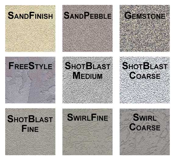 Cmu wall types traditional stucco eifs systems for - Different exterior wall finishes ...