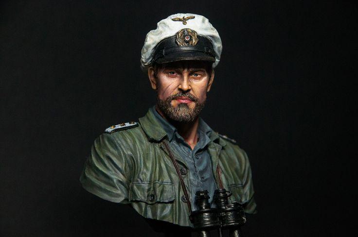 Sea Wolf - WW2 German U-Boat Commander by Dongyoon · Putty&Paint