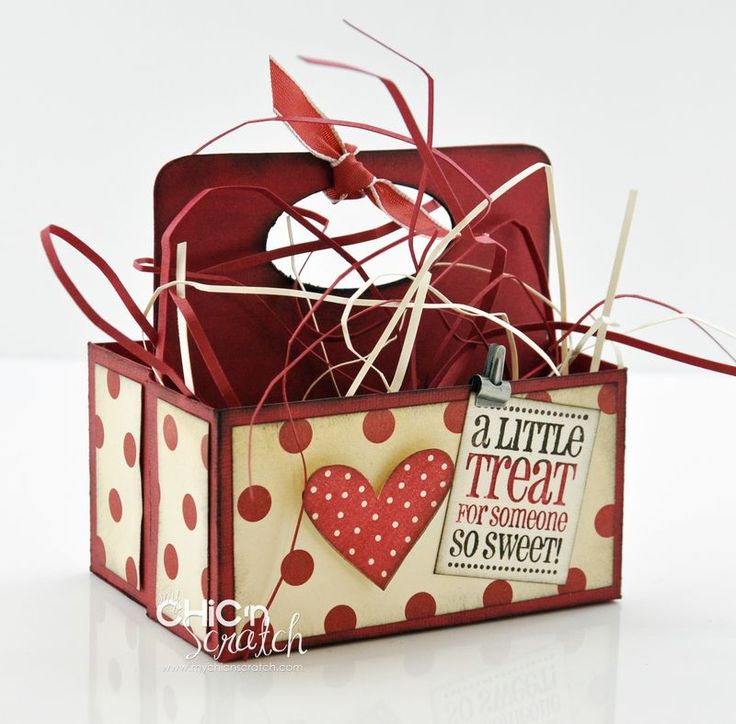 a little treat because you're so sweet box