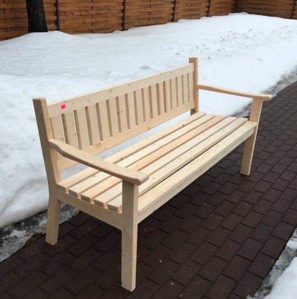 Садовая скамейка - Скамейки деревянные - Садовые скамейки для дачи