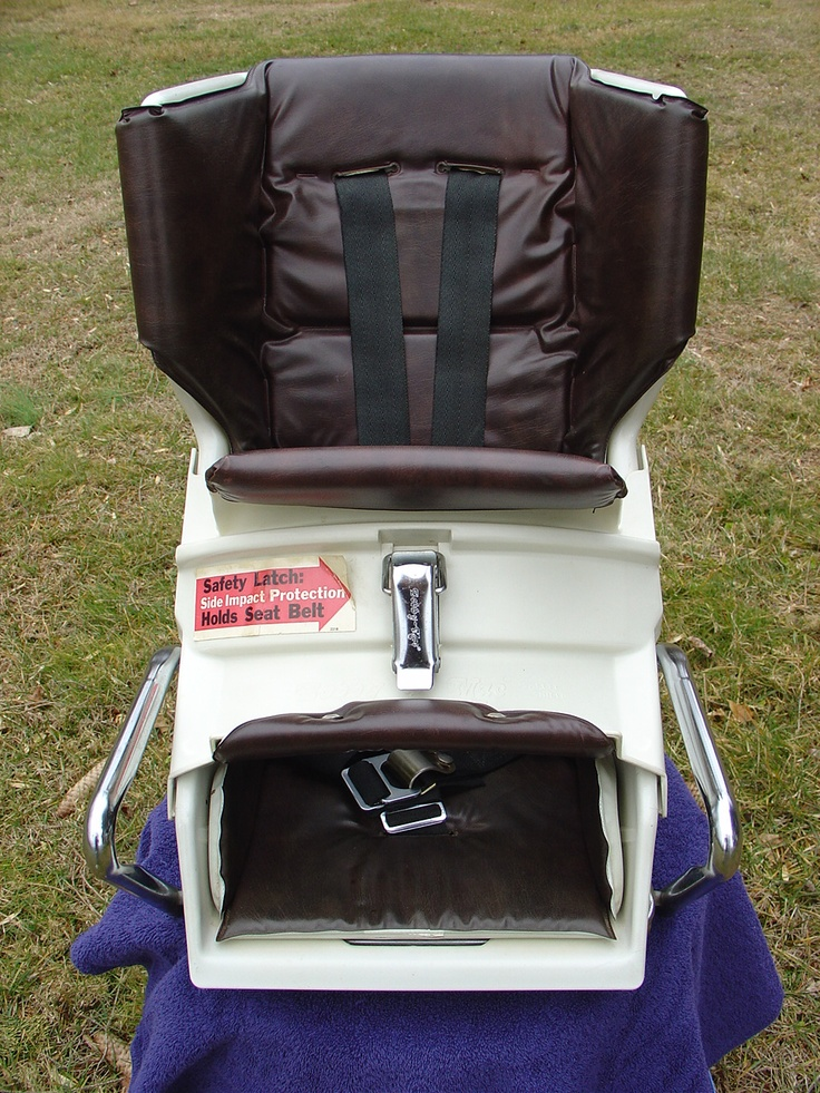 1980 Bobby Mac Deluxe Car Seat In Brown Vintage Car